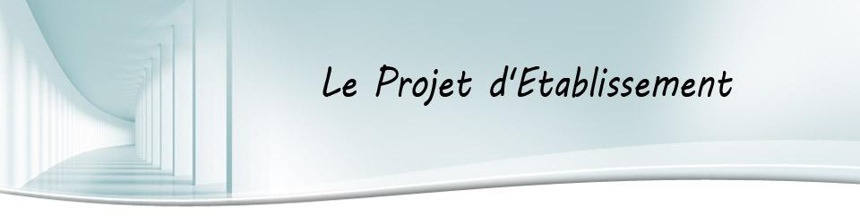 titre projet etablissement